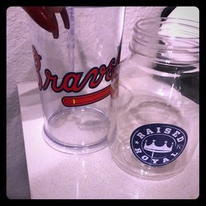 MLB cups, braves and royals
